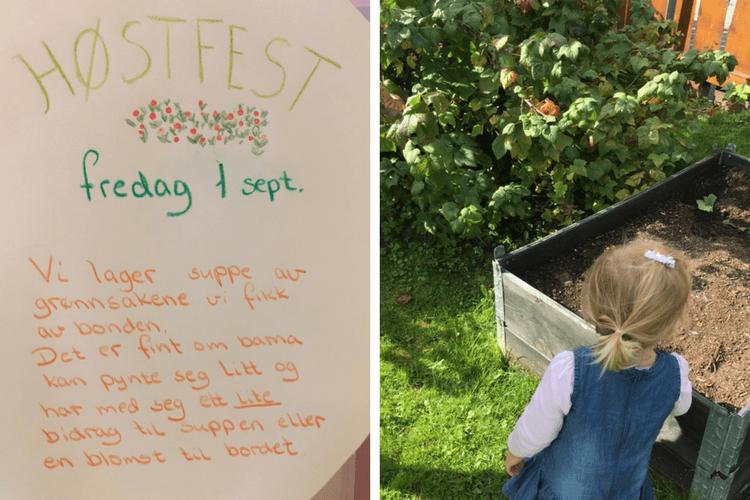 Barnehagestart - Et ærlig innlegg om barnehagestart og mat i barnehagen