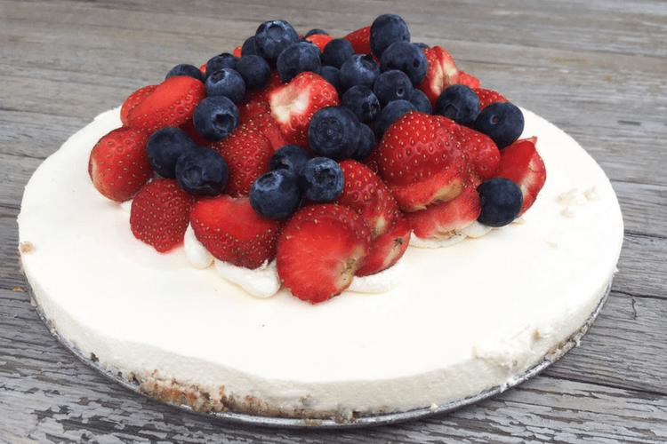 Ostekake med lime - en søt og frisk kake til bursdagsfeiringen
