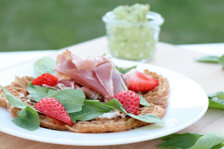 Grønnsaksvafler og tarmstyrkende oppskrifter fra Julianne