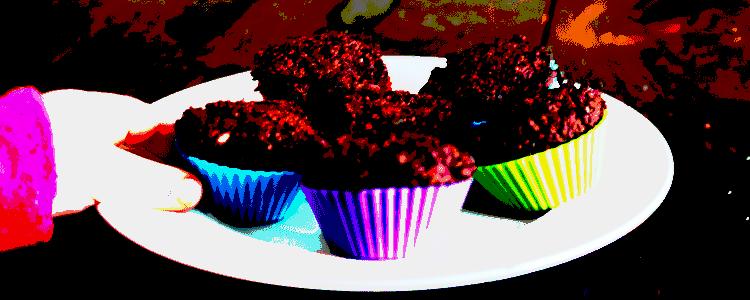 sjokolademuffins proppet med viktige næringsstoffer