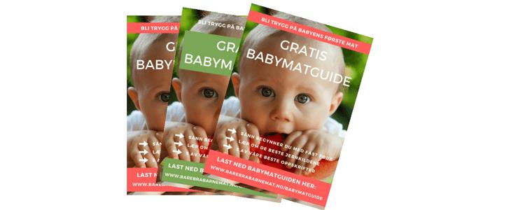 Babymatguiden på helsestasjon og legesentre over hele landet