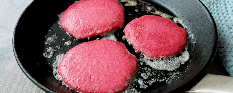 Rosa pannekaker