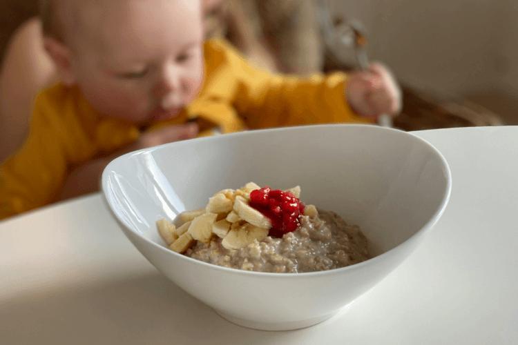Grøt full av næring - Favorittengrøten til Krisander 7 måneder